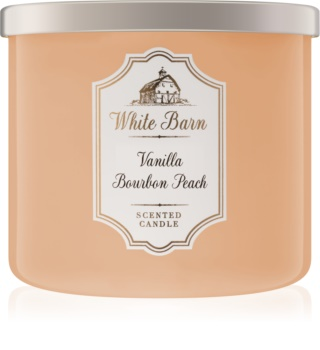 Bath & Body Works Vanilla Bourbon Peach lumânare parfumată  411 g