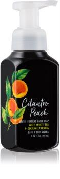 Bath & Body Works Cilantro Peach Schaumseife zur Handpflege