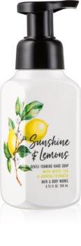 Bath & Body Works Sunshine & Lemons hab szappan kézre