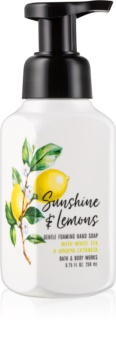 Bath & Body Works Sunshine & Lemons Schaumseife zur Handpflege