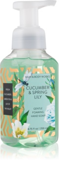 Bath & Body Works Cucumber & Spring Lilly schiuma detergente mani