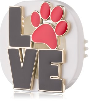 Bath & Body Works Love Paw support désodorisant pour voiture   clip