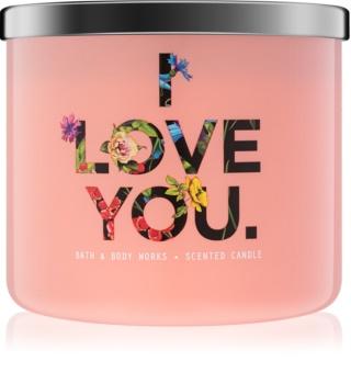 Bath & Body Works Georgia Peach bougie parfumée 411 g edition limitée I Love You