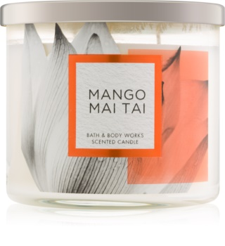 Bath & Body Works Mango Mai Tai ароматна свещ  411 гр.