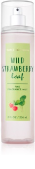Bath & Body Works Wild Strawberry Leaf Bodyspray  voor Vrouwen  236 ml