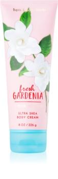 Bath & Body Works Fresh Gardenia telový krém pre ženy 226 g