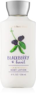 Bath & Body Works Blackberry & Basil Körperlotion für Damen 236 ml
