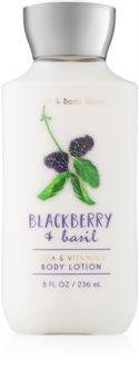 Bath & Body Works Blackberry & Basil telové mlieko pre ženy 236 ml