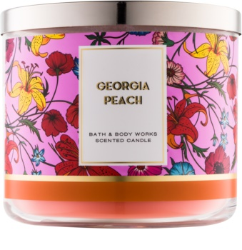 Bath & Body Works Georgia Peach bougie parfumée 411 g