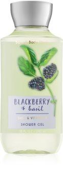 Bath & Body Works Blackberry & Basil gel doccia da donna 295 ml