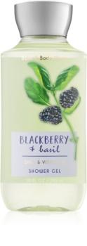 Bath & Body Works Blackberry & Basil gel doccia per donna 295 ml