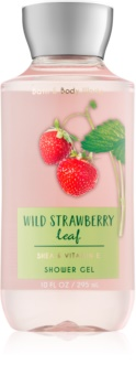Bath & Body Works Wild Strawberry Leaf Douchegel voor Vrouwen  295 ml