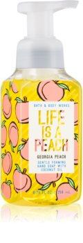 Bath & Body Works Georgia Peach Life is a Peach flüssige Seife für die Hände