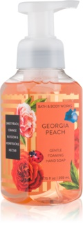 Bath & Body Works Georgia Peach penové mydlo na ruky