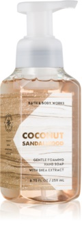 Bath & Body Works Coconut Sandalwood Sapun spuma pentru maini