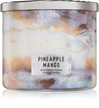 Bath & Body Works Pineapple Mango vonná svíčka 411 g I.