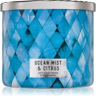 Bath & Body Works Ocean Mist & Citrus candela profumata 411 g