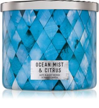 Bath & Body Works Ocean Mist & Citrus lumanari parfumate  411 g