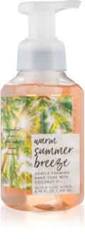 Bath & Body Works Warm Summer Breeze pěnové mýdlo na ruce