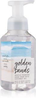 Bath & Body Works Golden Sands hab szappan kézre