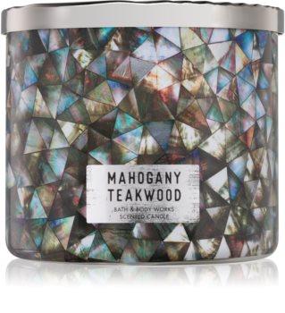 Bath & Body Works White Barn Mahogany Teakwood Geurkaars