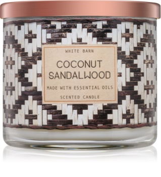Bath & Body Works Coconut Sandalwood vonná svíčka 411 g