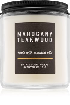 Bath & Body Works Mahogany Teakwood duftkerze  III. 198 g