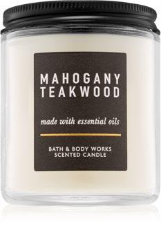 Bath & Body Works Mahogany Teakwood Geurkaars 198 gr III.