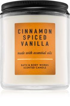 Bath & Body Works Cinnamon Spiced Vanilla vonná sviečka 198 g I.