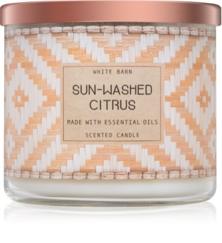 Bath & Body Works Sun-Washed Citrus vonná sviečka 411 g