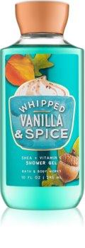 Bath & Body Works Whipped Vanilla & Spice gel za prhanje za ženske 295 ml