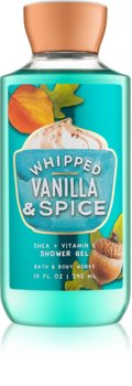 Bath & Body Works Whipped Vanilla & Spice sprchový gel pro ženy 295 ml