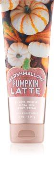 Bath & Body Works Marshmallow Pumpkin Latte tělový krém pro ženy 226 g