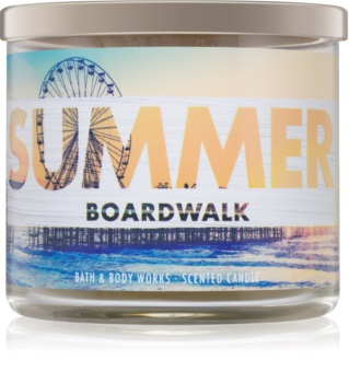 Bath & Body Works Summer Boardwalk Geurkaars 411 gr
