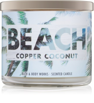 Bath & Body Works Beach Copper Coconut Scented Candle 411 g