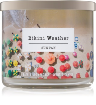 Bath & Body Works Suntan Geurkaars 411 gr  Bikini Weather