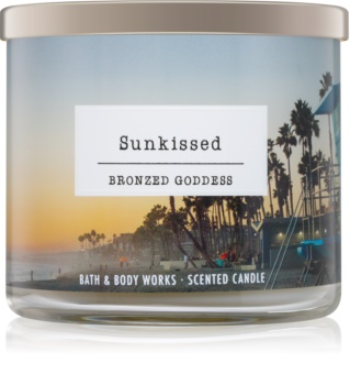 Bath & Body Works Sunkissed Bronzed Goddess vonná svíčka 411 g