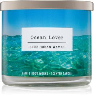 Bath & Body Works Blue Ocean Waves bougie parfumée I. Ocean Lover 411 g