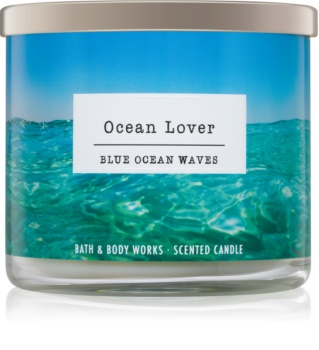 Bath & Body Works Blue Ocean Waves scented candle I. Ocean Lover
