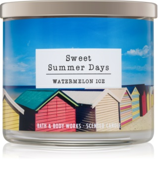 Bath & Body Works Watermelon Ice Duftkerze  411 g  Sweet Summer Days