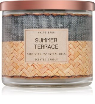 Bath & Body Works Summer Terrace vonná svíčka 411 g