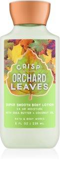 Bath & Body Works Crisp Orchard Leaves lait corporel pour femme 236 ml