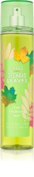 Bath & Body Works Crisp Orchard Leaves Bodyspray  voor Vrouwen  236 ml