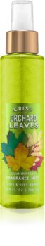 Bath & Body Works Crisp Orchard Leaves Bodyspray  voor Vrouwen  146 ml Glimmend