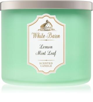 Bath & Body Works Lemon Mint Leaf vonná svíčka 411 g