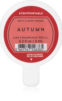 Bath & Body Works Autumn aромат для авто 6 мл замінний блок