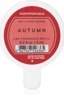 Bath & Body Works Autumn Auto luchtverfrisser  6 ml Vervangende Vulling