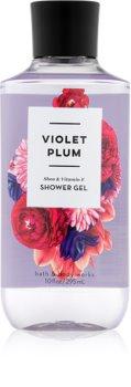 Bath & Body Works Violet Plum gel de douche pour femme 295 ml