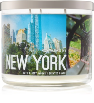 Bath & Body Works Rose Water & Ivy bougie parfumée 411 g I. New York