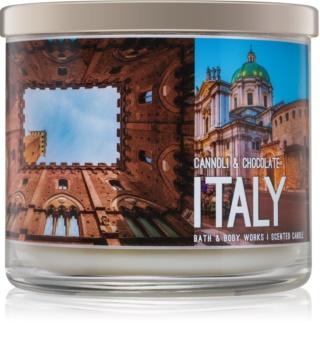 Bath & Body Works Cannoli & Chocolate vela perfumado 411 g  Italy